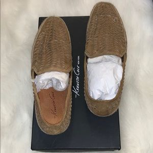 Kenneth Cole woven suede slip on